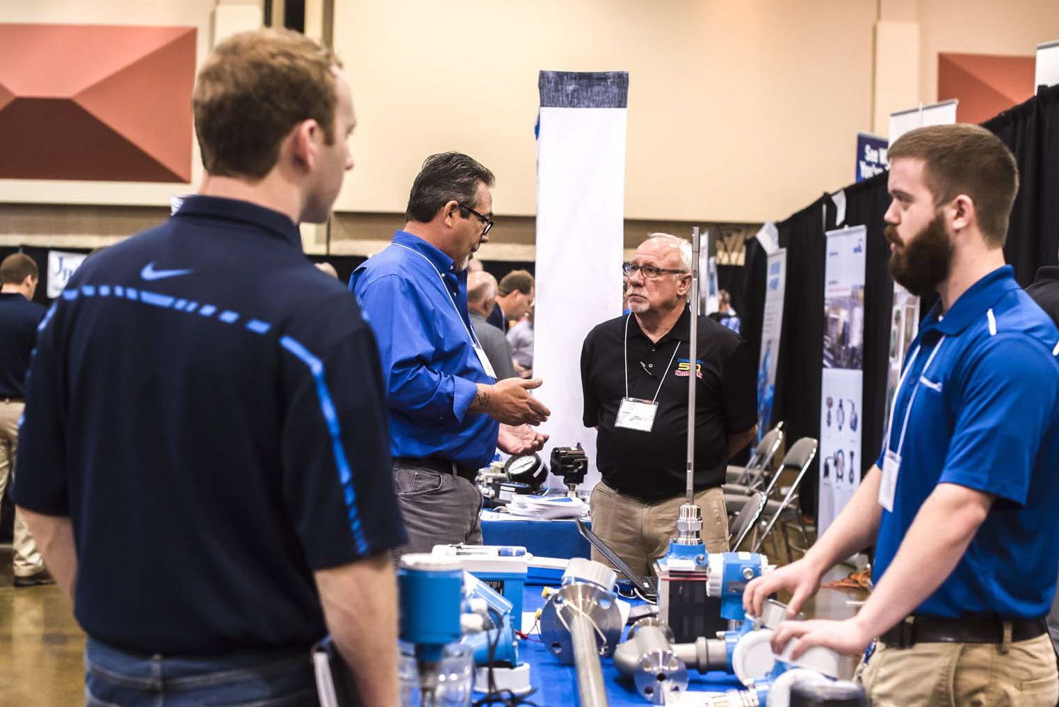 Exhibitors were chosen for eChem Expo because their products and services fill the needs revealed in 70 in-depth interviews with plant engineers.