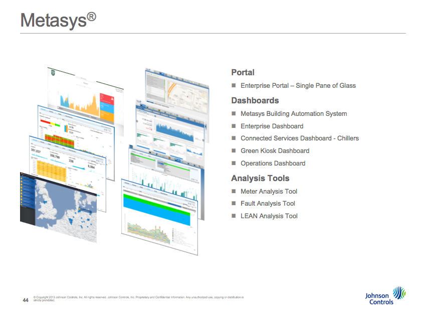 John Gnadinger presented key elements of the new Matasys 8 building automation system